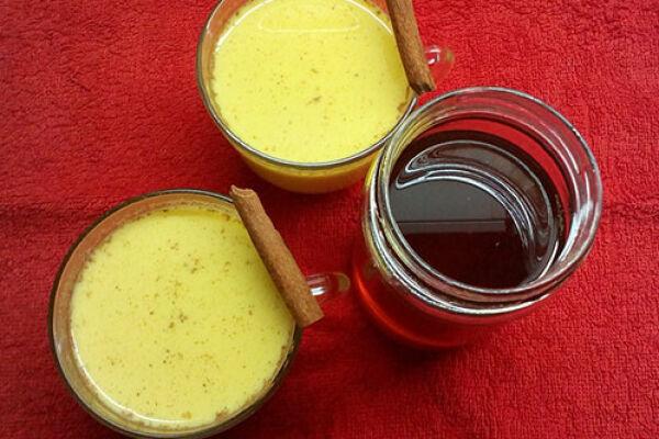 Согревающее золотое молочко из куркумы, правила приготовления