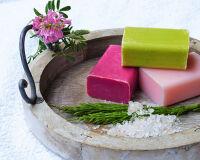 Мыло натуральное ручной работы для тела и волос