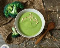 Зелёный лёгкий и полезный суп-пюре