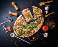Новый рецепт пиццы без глютена с курицей и болгарским перцем