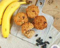 Как приготовить вкусные кексы из банана без глютена?