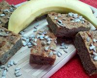 Кукурузно-банановый кекс без глютена сахара и яиц