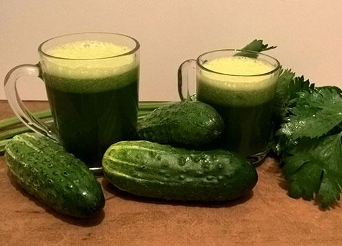 Зеленый-сок