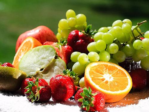 Красивые фрукты