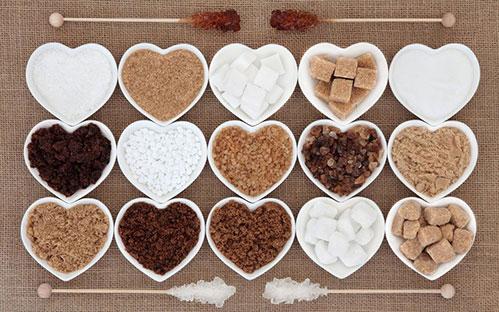 Сахар сердечками