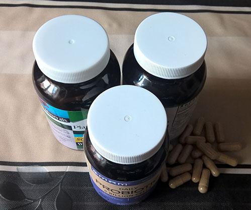 Баночки с пробиотиками