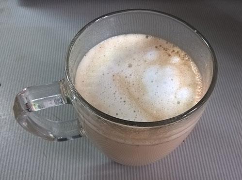 Кофе с молочной пеной