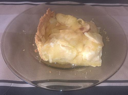 Кусочек пирога с медом