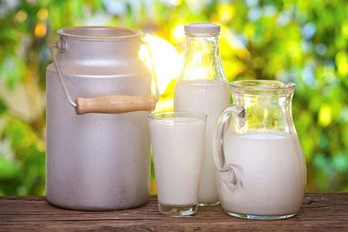 Молоко разное