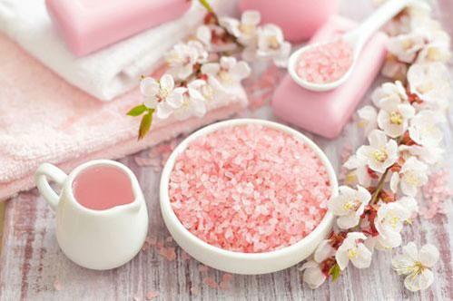 Скраб розовый