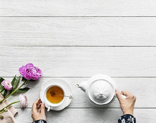 Чай из листьев вишни