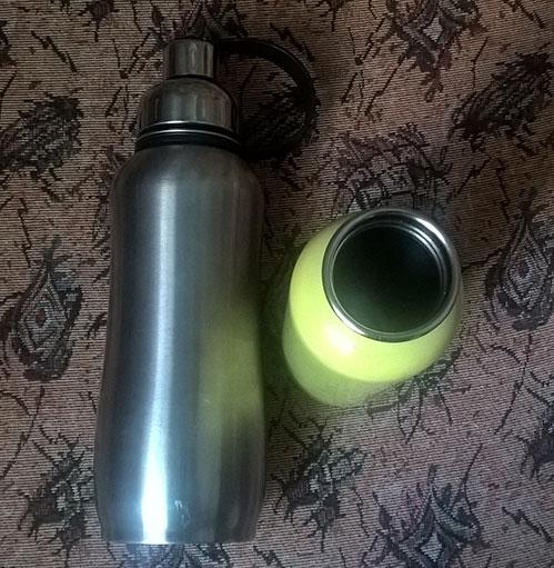 Стальные бутылочки