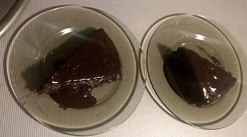 Шоколадный пирог зебра