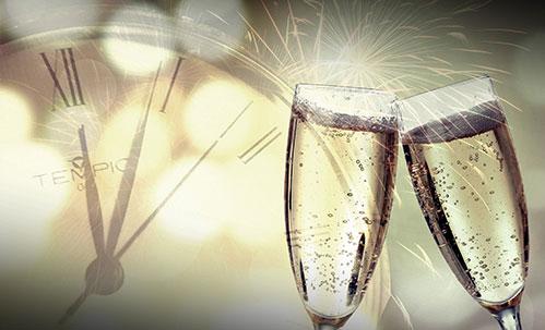 Новый год бокалы