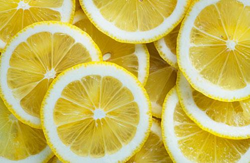 Ломтики лимонов