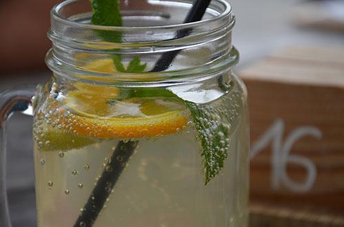 Солёный лимонад готов