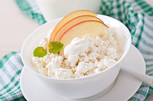 Творожок на завтрак