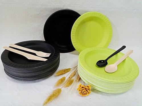 Одноразовая посуда из кукурузного крахмала