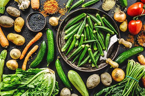 Разные овощи для детокса