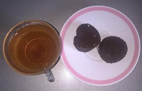 Травяной чай и домашний шоколад
