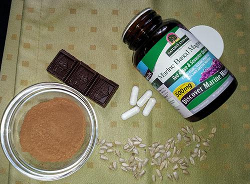 Капсулы магния какао шоколад